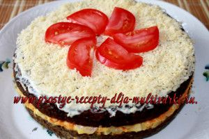 Печеночный торт в мультиварке