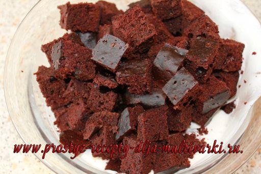 Торт графские развалины в мультиварке редмонд рецепты с фото