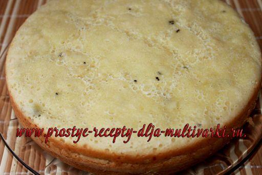 торт с киви в мультиварке