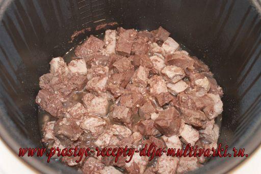 Солянка сборная мясная в мультиварке