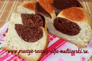 Сладкий хлеб с маком и какао в мультиварке