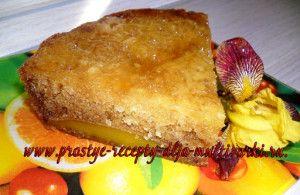 Пирог с манго в мультиварке