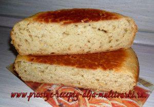 хлеб с сыром, луком и укропом в мультиварке