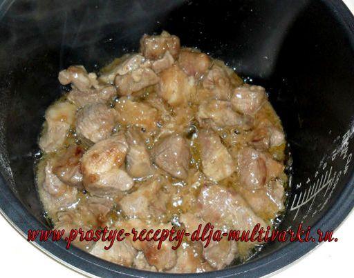 Как вкусно приготовить свинину в мультиварке рецепт