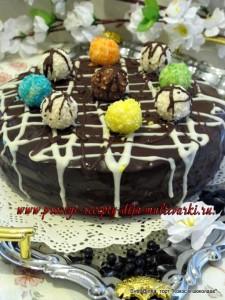 торт в мультиварке Redmond