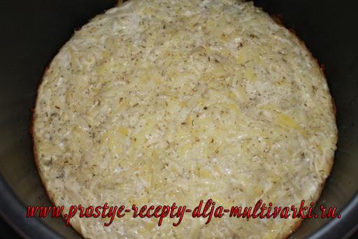 Картофельная запеканка с фаршем в мультиварке-скороварке