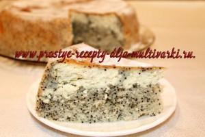 пирог с творожной начинкой в мультиварке