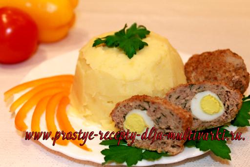 Картофельное пюре в мультиварке