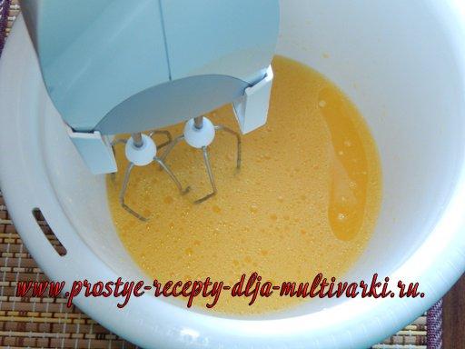 Постный апельсиновый кекс