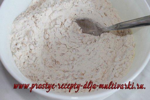 Содовый хлеб в мультиварке