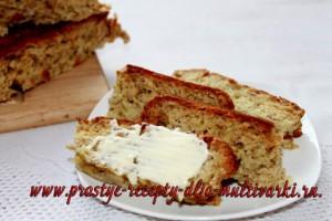 хлеб с овсяными хлопьями