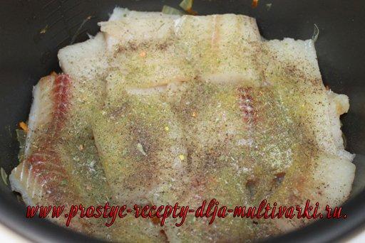 Филе минтая в мультиварке рецепты