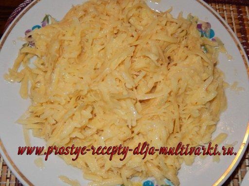 Запеканка картофельная в мультиварке
