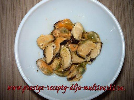 Суп из морепродуктов в мультиварке
