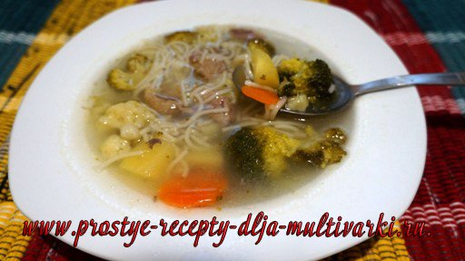 Утиный суп в мультиварке