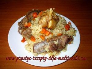 Как приготовить рис с ребрышками в скороварке