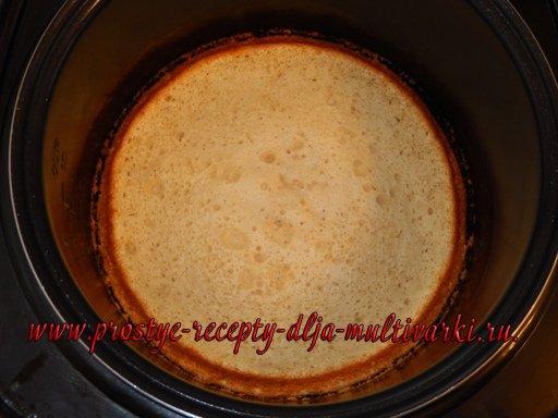 Яблочный пирог в мультиварке рецепт