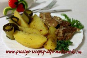 Как приготовить картошку с ребрышками в скороварке