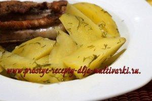 Как приготовить паровой картофель в мультиварке