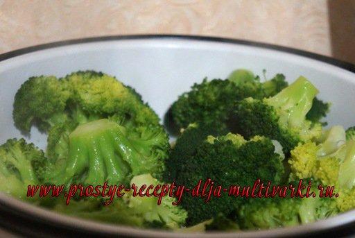 брокколи на пару в мультиварке рецепты с фото