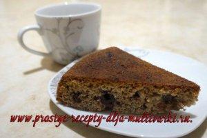 Пирог из ржаной муки рецепт