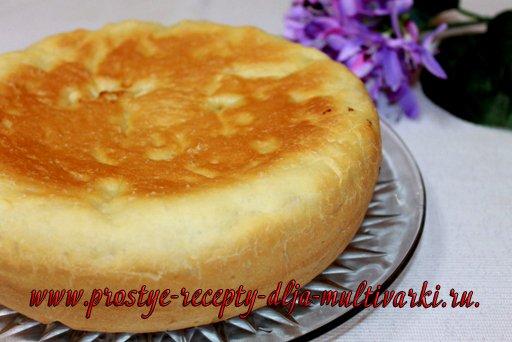 Пирог с брынзой в мультиварке