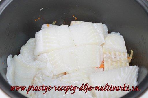 Как приготовить филе рыбы в мультиварке