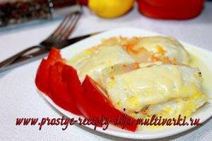 Рыбное филе в мультиварке рецепт