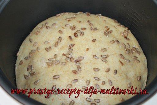 Хлеб с отрубями в мультиварке