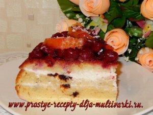 Апельсиновый торт в мультиварке рецепт с фото