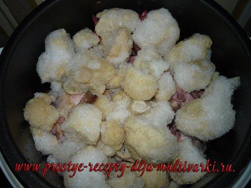 Свиные ребрышки в мультиварке рецепт