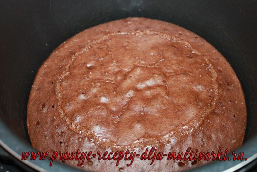 Шоколадные пирожные в мультиварке