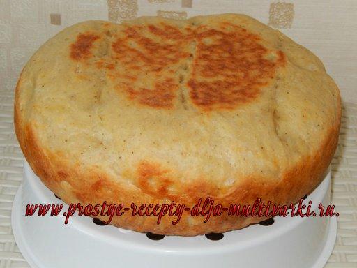 Сырный хлеб в мультиварке. Пошаговый рецепт с фото.