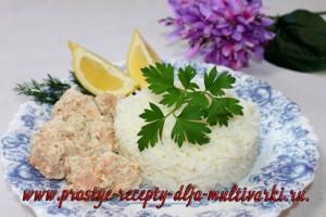 Рыба в сливках рецепт