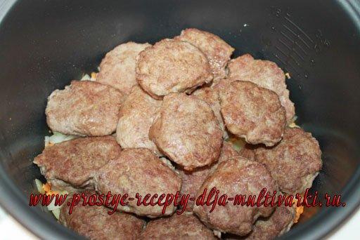 Куриные тефтели в сливочном соусе в мультиварке рецепт