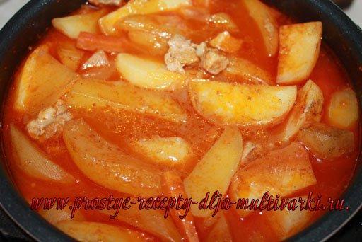 Картофель с мясом в скороварке рецепты
