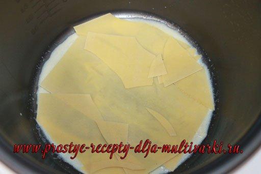 Лазанья в мультиварке рецепт