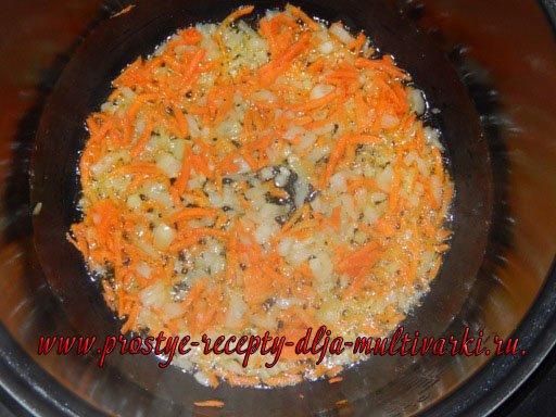 Пшенная каша с тушенкой и картофелем в мультиварке