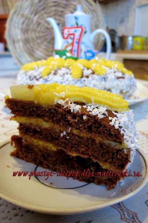Как сделать торт постный 184