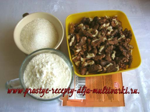 Рецепт шоколадного бисквита в мультиварке