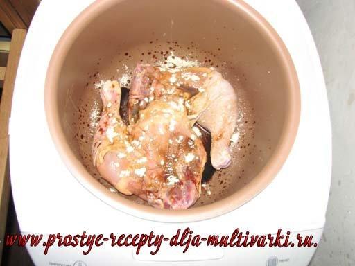 Куриные ножки в мультиварке