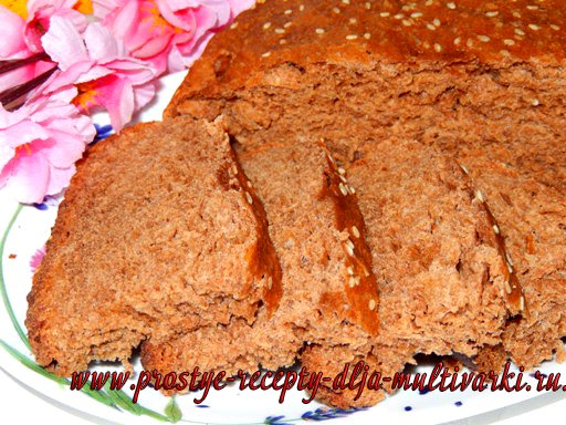 Ржаной хлеб рецепт