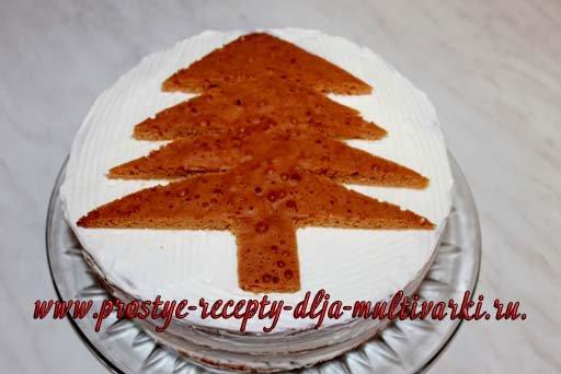 Торт «Елочка»