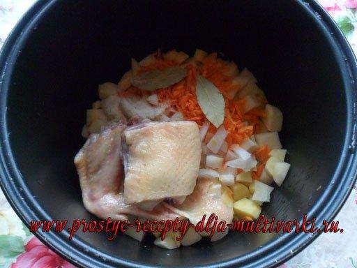 Суп в мультиварке для детей