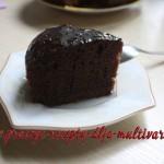 Пошаговый рецепт простого шоколадного кекса