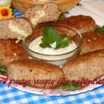 Мясные зразы с гречкой и яйцом