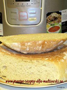 Как приготовить белый хлеб в мультиварке