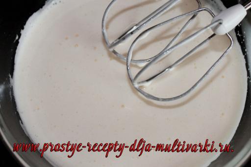 Шоколадный бисквит в мультиварке-скороварке