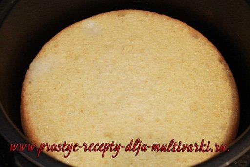 Бисквит в мультиварке-скороварке