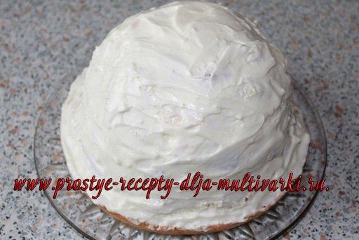 Торт в мультиварке-скороварке